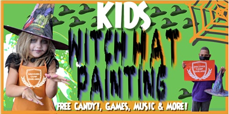 Witch Hat Painting - DCG HALLOWEEN FESTIVAL (DALLAS) tickets