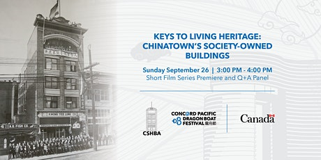 Keys to Living Heritage: Chinatown's Society-Owned Buildings tickets