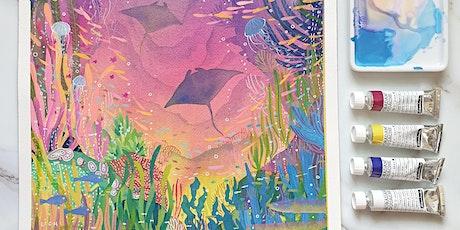 Watercolour Fast Forward with Leach tickets