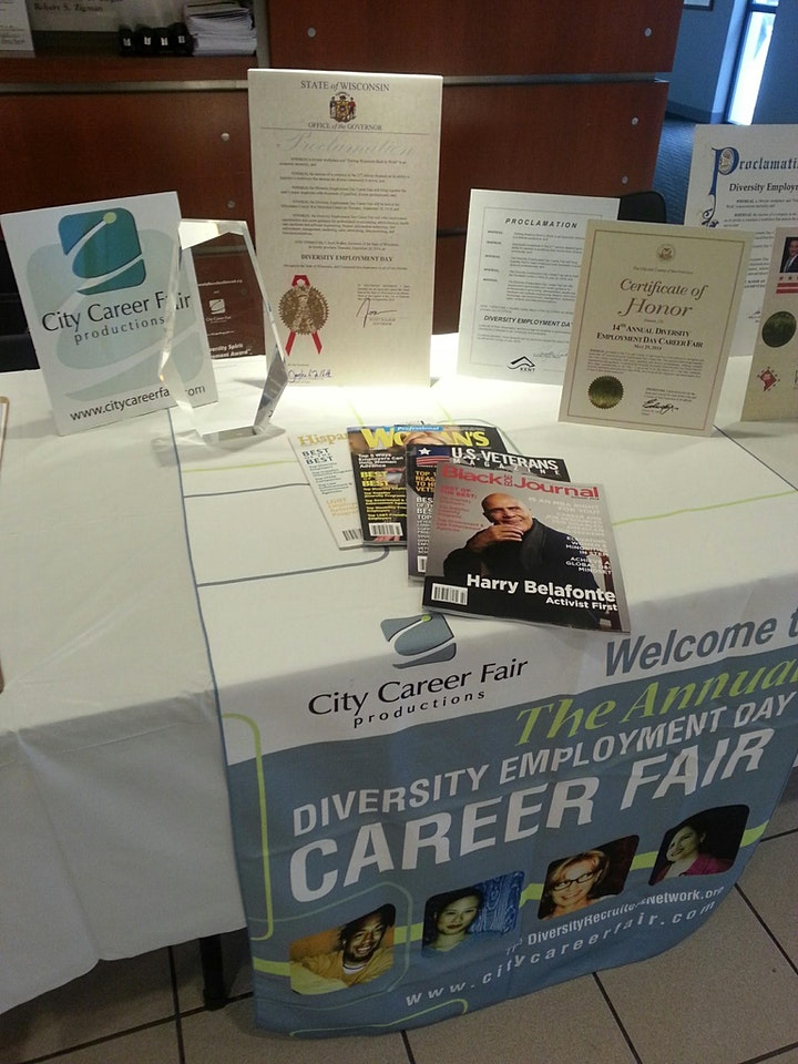 MILWAUKEE'S IN PERSON (IP) Diversity Employment Day Career Fair  9/15/2021 image