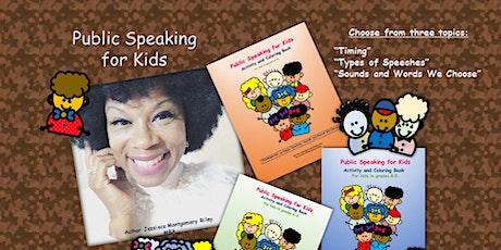 Public Speaking Workshops for Kids (Grades K-5) tickets