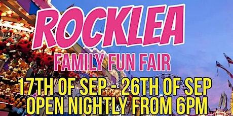 Rocklea Ride Fun Fair Free Circus tickets