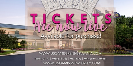 USOA Pennsylvania and New Jersey Pageant tickets