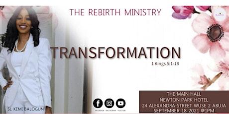 Transformation tickets