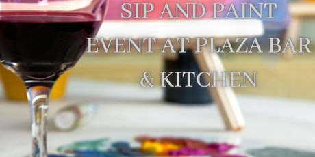 Sip Wine and Paint at Plaza Bar tickets
