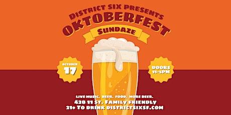 Sundaze Oktoberfest tickets