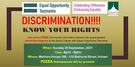 Discrimination!!! - Know Your Rights tickets