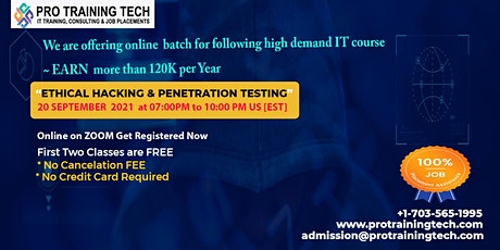 Learn Ethical Hacking and Penetration Testing tickets