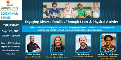 CPN Zoominar: Engaging Diverse Families through Sport and Physical Activity tickets