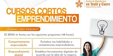 Introducción a cursos de emprendimiento que ofrecemos en alianzacon el SENA entradas