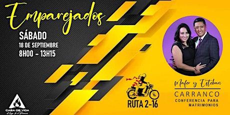 EMPAREJADOS - RUTA 2-16 entradas