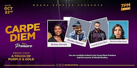 Carpe Diem Premiere & Wonda Studios Launch tickets