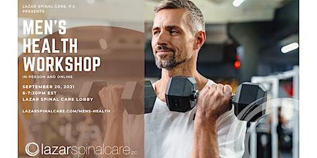 Men's Health Workshop (Online) tickets