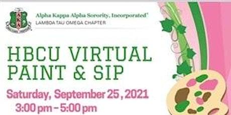 Target1 HBCU LTO PAINT & SIP (Virtual Event) tickets