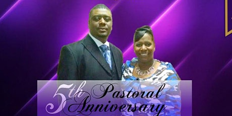 Pastor Timothy & Lady Omega  Williamson 5th  Pastoral Anniversary Banquet tickets