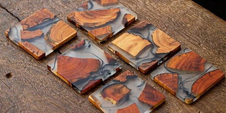 Red Cedar x Wood Coasters Made with Resin! tickets