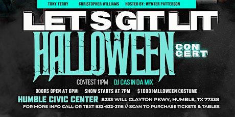 Let's Git Lit Halloween Concert tickets