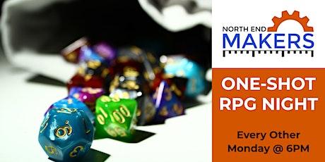 One-Shot RPG Night tickets