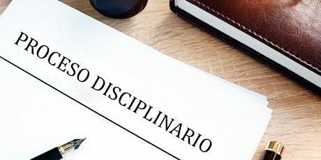 Decisiones Administrativas: Proceso Disciplinario entradas
