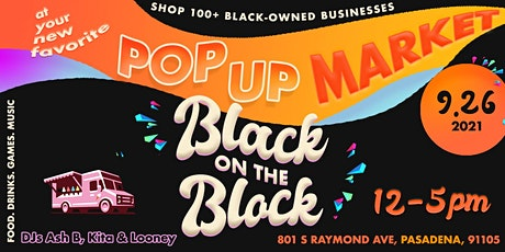 Black on the Block: September Market! tickets