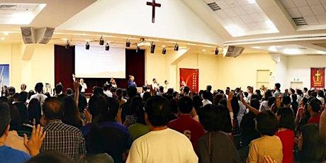 Paya Lebar Methodist Church 上午十一点十五分活石华语聚会(圣所) tickets