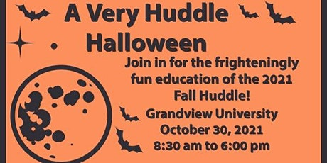 2021 District 19 Toastmasters Fall Huddle - A Very Huddle Halloween! tickets
