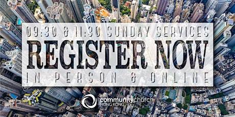 Community Church Hong Kong Sunday Services - 9:30am & 11:30am tickets
