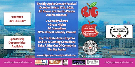 Big Apple Comedy Festival Comedian Submissions tickets