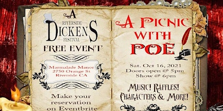 A Picnic With Poe... A Special Evening with the Master of the Macabre! tickets