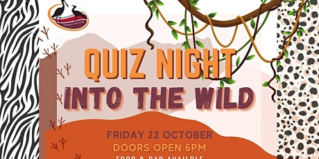 Roebuck Primary School P & C Quiz Night- Into the Wild tickets