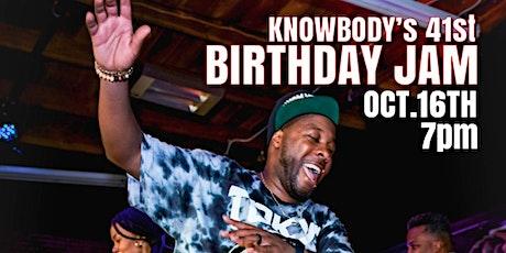 Knowbody's Birthday Jam tickets