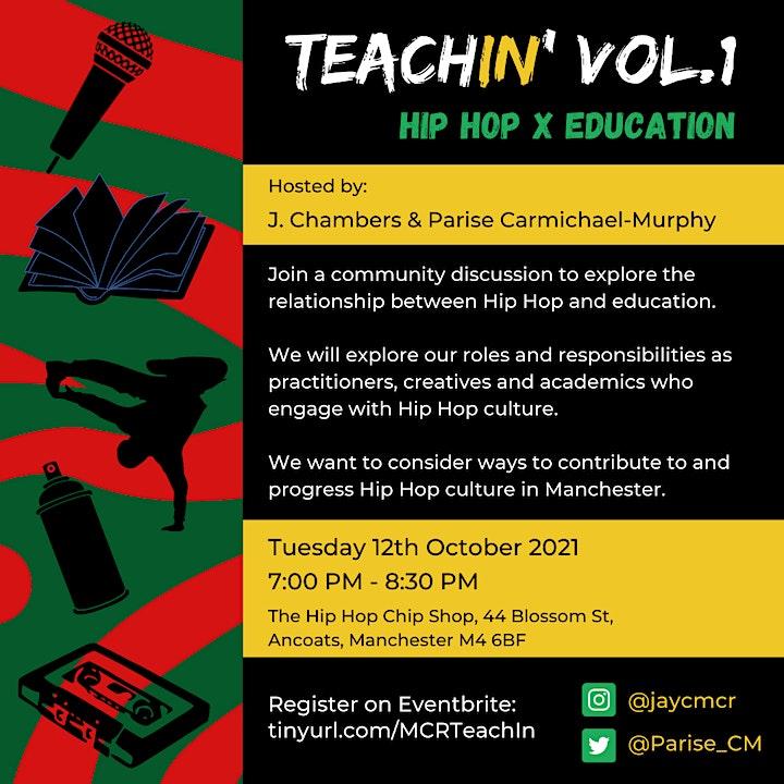 TeachIN' vol.1: Hip Hop x Education image