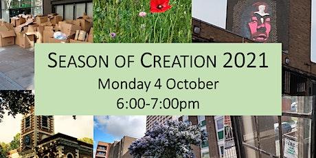 Season of Creation 2021 Prayer Service tickets