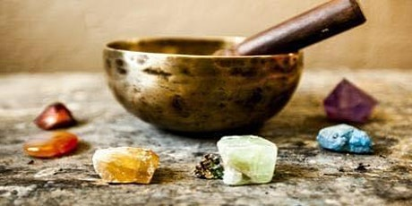 7 Chakras Crystals Meditation with Singing Bowl & Healing Oil tickets