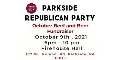 Octoberfest Beef and Beer Fundraiser tickets