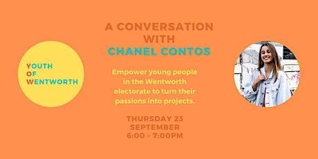 Turning Passions Into Projects - A Conversation with Chanel Contos tickets