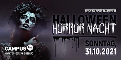 Halloween Horror Nacht 2021 Tickets