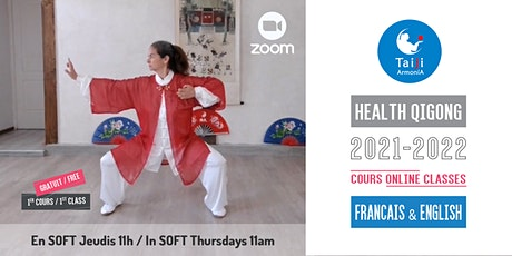 Annual Weekly Online SOFT Health Qigong classes Baduanjin Chi Kung tickets