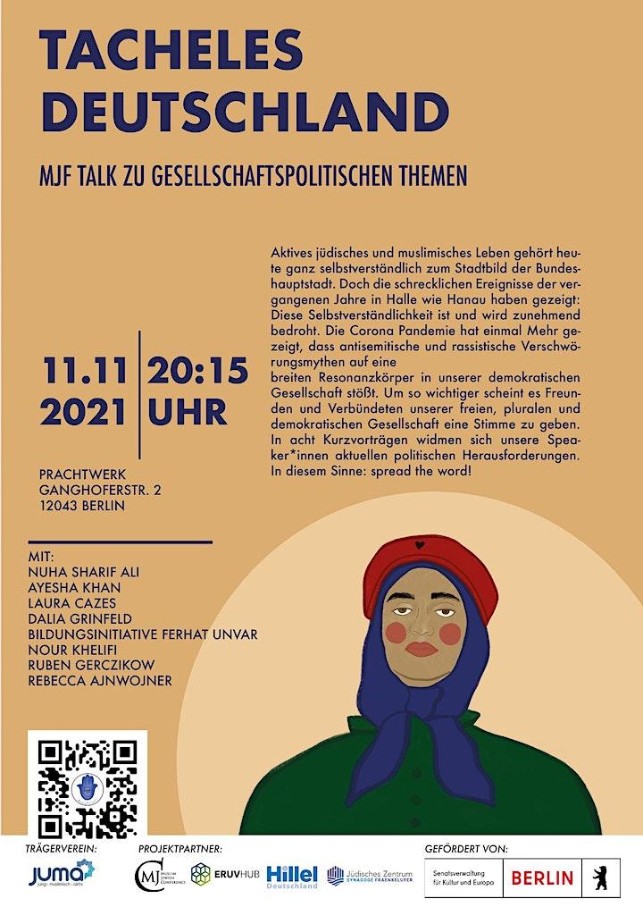 11.11.21-  Muslimisch Jüdisches Festival - Tacheles Deutschland image