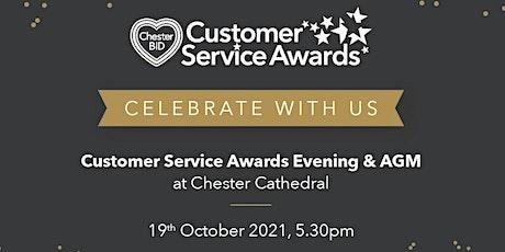 Chester BID Customer Service Awards & AGM tickets