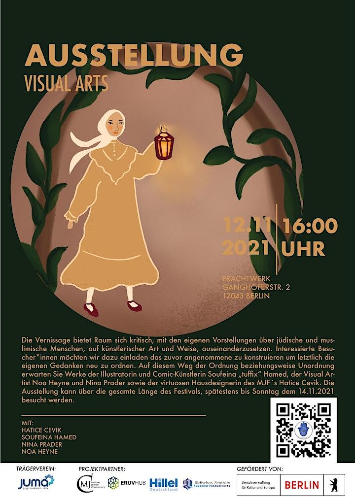 12.11.21 Muslimisch Jüdisches Festival - Vernissage image