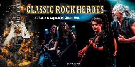 CLASSIC ROCK HEROES plus special guests THE START - FREE EVENT tickets