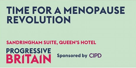 Time for a menopause revolution tickets