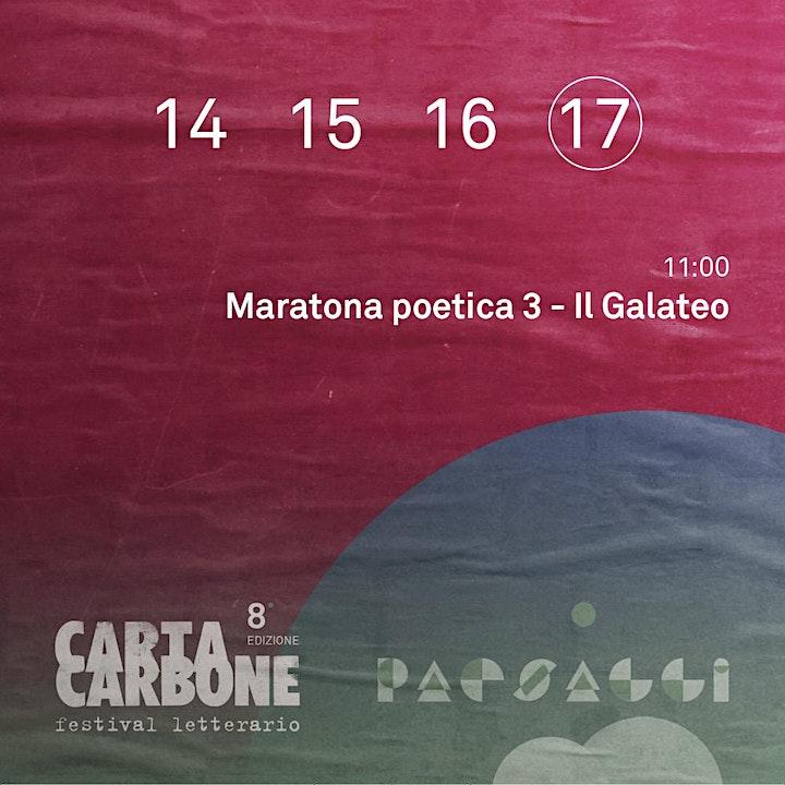 Immagine Maratona poetica 3 - Il Galateo
