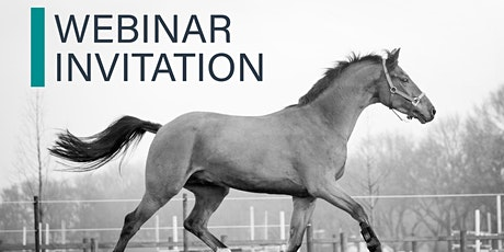 WEBINAR Equine vaccination: latest studies and best practices tickets