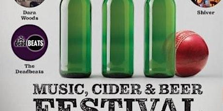 Kirkham & Wesham Music, Cider and Beer Festival tickets
