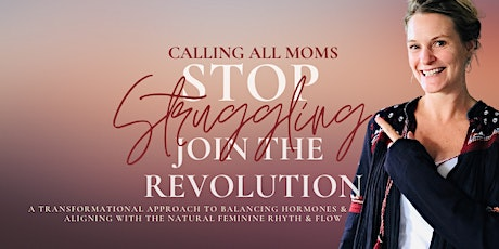 Stop  the Struggle, Reclaim Your Power as a Woman (NEW YORK) tickets