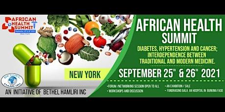 AFRICAN HEALTH SUMMIT tickets