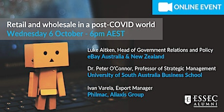 Retail and wholesale in a post-COVID world tickets