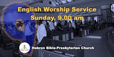 Sun, 9 ㏂ English Worship Service tickets